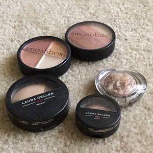 Full size smashbox etc. makeup lot